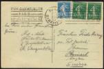 FRANCE PARIS GARE DE L´EST 1924 - OLYMPIC GAMES PARIS 1924 - MAILED POSTCARD: NOTRE DAME CHURCH - Estate 1924: Paris