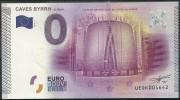 Billet Touristique 0 Euro 2015  Les Caves BYRHH - Essais Privés / Non-officiels