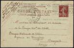 FRANCE PARIS AV. D´ORLEANS 1924 - OLYMPIC GAMES PARIS 1924 - MAILED POSTCARD - STATIONERY - Estate 1924: Paris