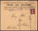 FRANCE PARIS AV. D´ORLEANS JUILLET 1924 - OLYMPIC GAMES PARIS 1924 - MAILED ENVELOPE - Estate 1924: Paris