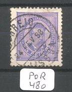 POR Afinsa  63 Violet Bleu - 1862-1884: D. Luiz I.
