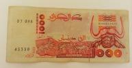 ALGERIA 1000 DINARS 1992 - Algeria