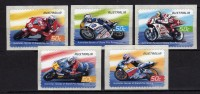 AUSTRALIE Australia 2004 Motocyclisme Self Adh   Yv  2273/2277  MNH ** - Motorbikes