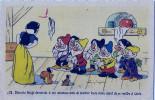 CPA - BLANCHE-NEIGE N° 12 - éditions Superluxe - Paris, Par Autorisation De WALT DISNEY-MICKEY MOUSE, S.A - Disney