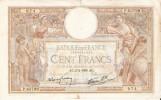 BILLETE DE FRANCIA DE 100 FRANCOS DEL 2-2-1939 LUC OLIVIER MERSON  (BANKNOTE) - 100 F 1908-1939 ''Luc Olivier Merson''