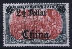 DP CHINA: Mi Nr 37  Gestempelt/used  Signed/ Signé/signiert Pfenninger - Ufficio: Cina