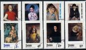 Poland Mi# 2336-2345 Used 1974: Day Of The Stamp: Children In Polish Painting - 1944-.... Republic