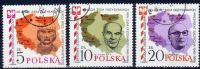 Poland Mi# 2970-2972 Used 1985: The 40th Anniversary Of The Recovery Of Polish North And West Territories - 1944-.... Republic