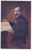 """Carte Illustrée Du Général Dubail - Grand Commandeur De La Légion D'Honneur - Publicité """"Boncao Est Vraiment Bon"""" - Characters"""