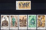 Poland Mi# 3069-3074 Used 1986: The 100th Anniversary Of The Warsaw Cycling Society - 1944-.... Republic