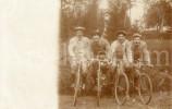 Photo Ancien / Hommes / Mannen / Men / Fiets / Vélo / Bicycle / Bicyclette - Cyclisme