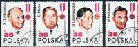 Poland Mi# 3207-3210 Used 1989: The 45th Anniversary Of The People's Republic Of Poland - 1944-.... Republic