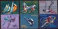 Poland Mi# 3258-3263 Used 1990: Sports - 1944-.... Republic