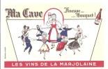 Buvard. Ma Cave Finesse Bouquet! Les Vins De La Marjolaine - Schnaps & Bier