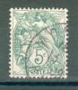 Collection FRANCE ; 1900-1924 ; Y&T N° 111e IB ; Oblitéré - 1900-29 Blanc