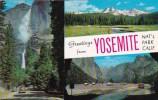 Greetings From Yosemite National Park California - Yosemite