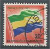 Gabon, Flag, 30f., 1968, VFU Official - Gabon