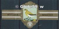 Bague De Cigare - Willem II - Série IX - N° 2618 - Glaréole à Collier - Bagues De Cigares