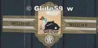 Bague De Cigare - Willem II - Série XI - N° 2701 - Eider à Tête Grise - Bagues De Cigares