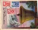 Österr.1935 - 1 + 5 + 12 Gro NACHPORTO Auf Ak Weihnachtskarte (Kartenstück) - Portomarken