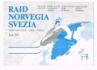 RAID NORVEGIA SVEZIA - MILANO ENGERDAL IDRE SäRNA  1978 - Suède