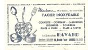 Buvard. Madame L'Acier Inoxidable Le Spécialiste RAVARD 29, Boulevard Foch à Angers - Electricité & Gaz