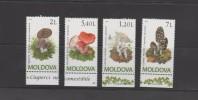 O) 2010 MOLDOVA - MOLDAVIA, MUSHROOMS, SET MNH - Moldova