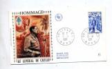 Lettre Cachet Lille Sur  De Gaulle - Poststempel (Briefe)