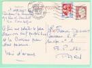 Fr5.  Entier Postal  25c Decaris Paris 18.12.1969 ( Verso Sans Texte ) - Entiers Postaux