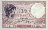 Billet De 5 Francs - Billet France Pk N° 83 - 1871-1952 Antiguos Francos Circulantes En El XX Siglo