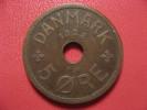Danemark - 5 Ore 1928 1627 - Denmark