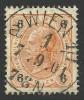 Austria, 6 H. 1899, Sc # 74, Mi # 73A, Used, Wien. - Usati