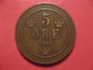 Suède - 5 Ore 1881 1757 - Sweden