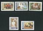 Viêt-Nam- Y&T N°545 à 549- Oblitérés - Viêt-Nam