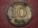 Suède - 10 Ore 1909 1701 - Sweden