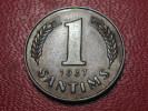 Lituanie - 1 Santims 1937 1767 - Lithuania