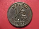1/2 Mark 1920 - Notgeld - Stadt Warendorf 1580 - Monétaires/De Nécessité