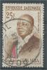 Gabon, Président Léon Mba, 25f., 1962, VFU - Gabon