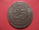 25 Pfennig 1920 - Kriegsnotgeld - Hildesheim 1567 - Monetary/Of Necessity
