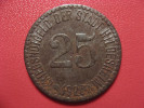 25 Pfennig 1920 - Kriegsnotgeld - Hildesheim 1569 - Monetary/Of Necessity