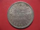 1/2 Million Mark August 1923 - Notgeld - Hamburg 1608 - Monetary/Of Necessity