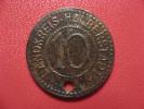 10 Pfennig - Landkreis-Halberstadt  (holed) 1588 - Monetary/Of Necessity