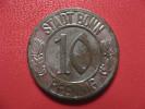 10 Pfennig 1918 - Stadt Bonn 1920 1594 - Monétaires/De Nécessité