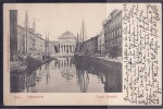 Austria1903:Michel84 On Card From Trieste To Luxembourg - Storia Postale