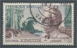 Gabon, Dr Albert Schweitzer, Lambaréné, 1960, VFU  Airmail - Gabon