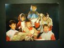1993 NIÑO NIÑOS CHILDREN CHILDRENS ENFANT ENFANTS ESCENA CANTANDO VILLANCICOS POSTCARD AÑOS 60/70 - TENGO MAS POSTALES - Escenas & Paisajes