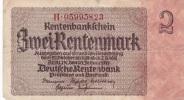 Third Reich - Zwei Rentenbankschein - Berlin 30.1.1937 (G67-66) - 1933-1945: Drittes Reich