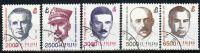 Poland Mi# 3352-3356 Used 1991: Officers Of The Armia Krajowa - Used Stamps