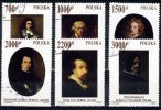 Poland Mi# 3363-3368 Used 1992: Masterpieces From The Collection Of The Name Of Pope John Paul II - 1944-.... Republic