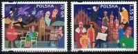 Poland Mi# 3825-3826 Used 2000: Kraków – Capital Of European Culture - Used Stamps